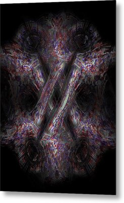 Vascular Network Metal Print by Christopher Gaston