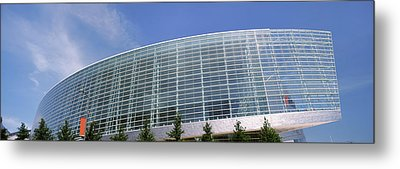 View Of The Bok Center, Tulsa Metal Print by Panoramic Images
