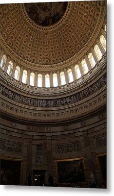 Washington Dc - Us Capitol - 011310 Metal Print by DC Photographer