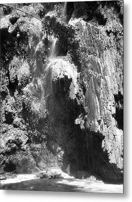 Water Falls Metal Print by Duane Blubaugh