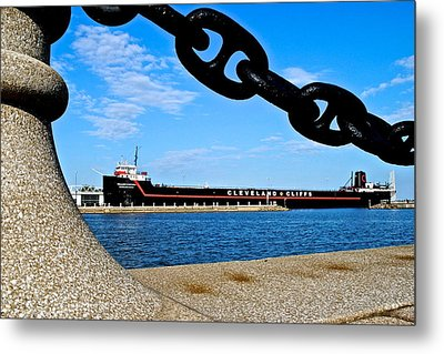 William G Mather Metal Print by Frozen in Time Fine Art Photography