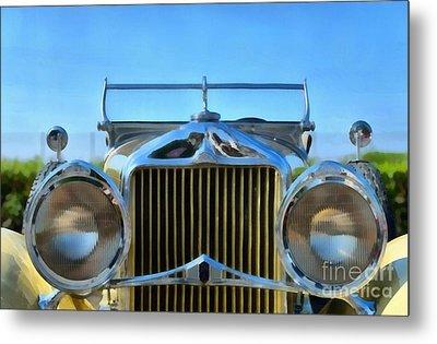 1930 Willys Knight Metal Print by George Atsametakis