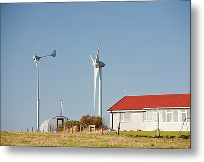 Wind Power Metal Print by Ashley Cooper
