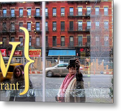 Windows  Metal Print by Sue Rosen