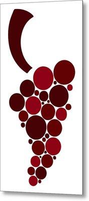 Wine Grape Metal Print by Frank Tschakert