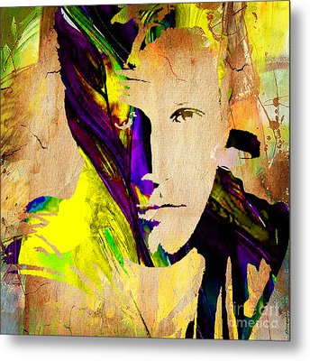 Ben Affleck Collection Metal Print by Marvin Blaine