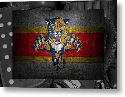 Florida Panthers Metal Print by Joe Hamilton