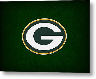 Green Bay Packers Metal Print by Joe Hamilton
