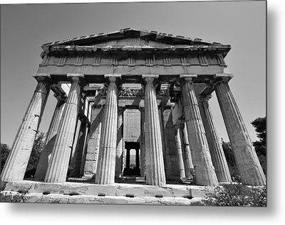 Hephaestus Temple Metal Print by George Atsametakis