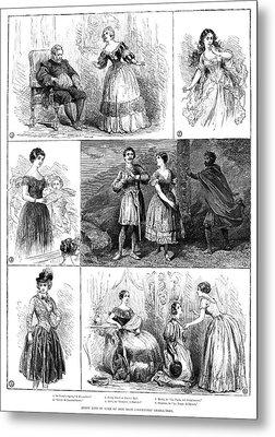 Jenny Lind (1820-1887) Metal Print by Granger