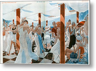 La Vie Parisienne  1931 1930s France Cc Metal Print by The Advertising Archives