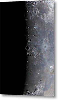 Surface Of The Moon Metal Print by Babak Tafreshi