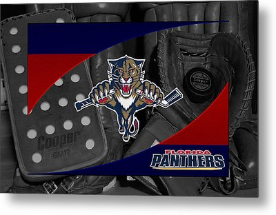 Florida Panthers Metal Print by Joe Hamilton