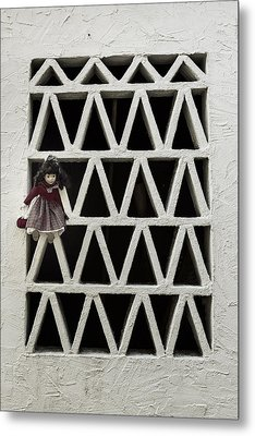 Old Doll Metal Print by Joana Kruse