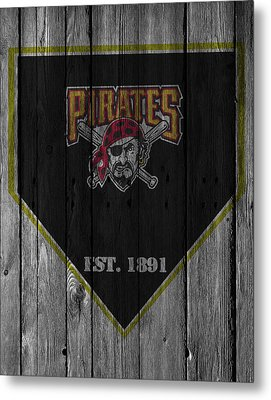 Pittsburgh Pirates Metal Print by Joe Hamilton