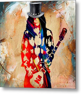 Slash Collection. Metal Print by Marvin Blaine