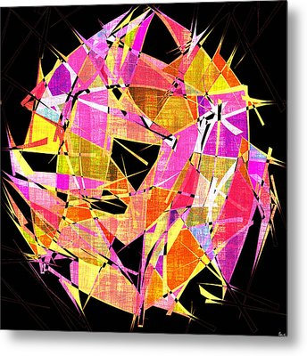 1102 Abstract Thought Metal Print by Chowdary V Arikatla