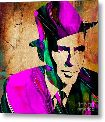 Frank Sinatra Metal Print by Marvin Blaine