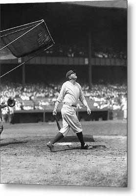 George H. Babe Ruth Metal Print by Retro Images Archive
