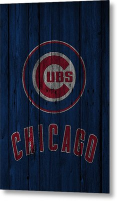Chicago Cubs Metal Print by Joe Hamilton