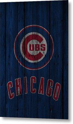 Chicago Cubs Metal Print by Joe Hamilton