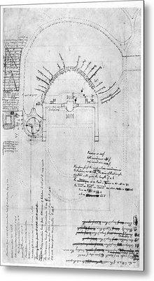 Jefferson: Monticello Metal Print by Granger
