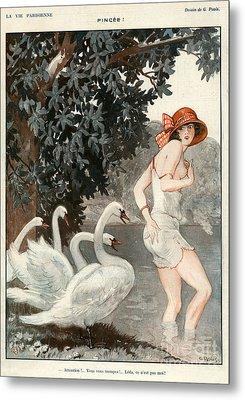 La Vie Parisienne  1923 1920s France Metal Print by The Advertising Archives