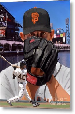 Mad Bum Metal Print by Jeremy Nash
