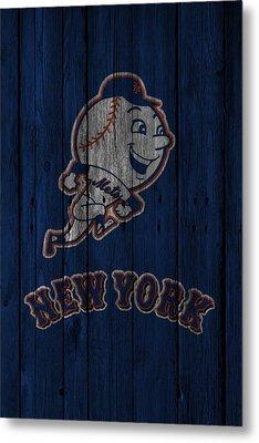 New York Mets Metal Print by Joe Hamilton