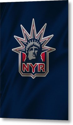 New York Rangers Metal Print by Joe Hamilton
