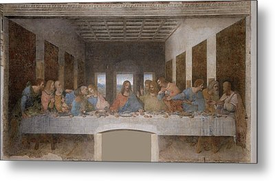 The Last Supper Metal Print by Celestial Images