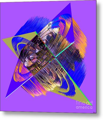 1422 Abstract Thought Metal Print by Chowdary V Arikatla