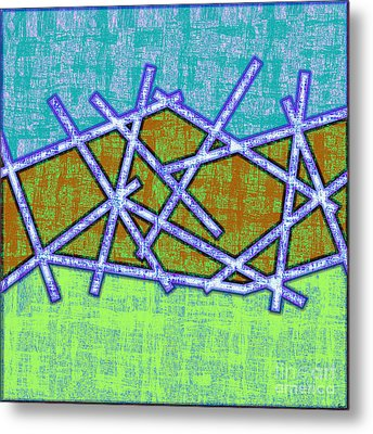 1455 Abstract Thought Metal Print by Chowdary V Arikatla