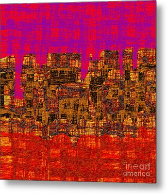 1457 Abstract Thought Metal Print by Chowdary V Arikatla