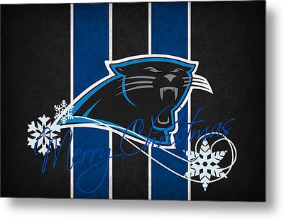 Carolina Panthers Metal Print by Joe Hamilton