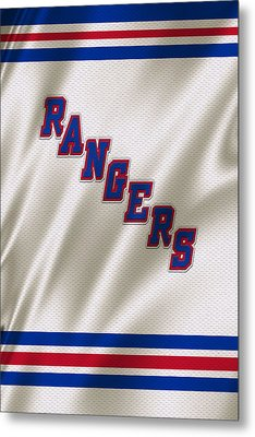 New York Rangers Metal Print by Joe Hamilton