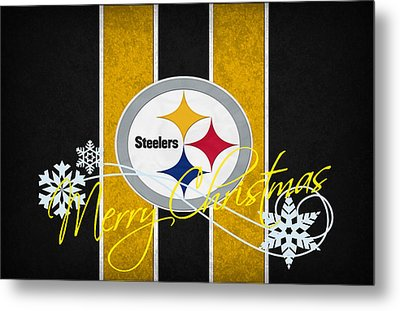 Pittsburgh Steelers Metal Print by Joe Hamilton
