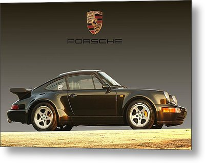 Porsche 911 3.2 Carrera 964 Turbo Metal Print by Ganesh Krishnan