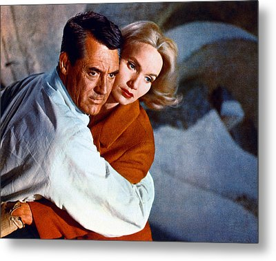 Cary Grant Metal Print by Silver Screen