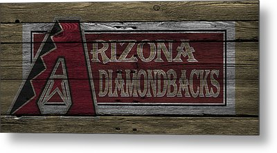 Arizona Diamondbacks Metal Print by Joe Hamilton