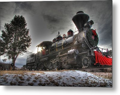 Metal Print featuring the photograph 1880 Train by Bill Gabbert