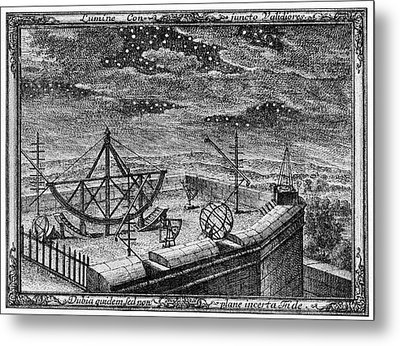 18th Century Observatory Metal Print by Cci Archives