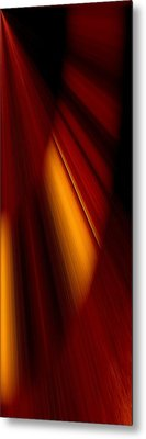 Abstract Art Metal Print by Heike Hultsch