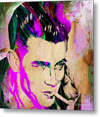 James Dean Collection Metal Print by Marvin Blaine