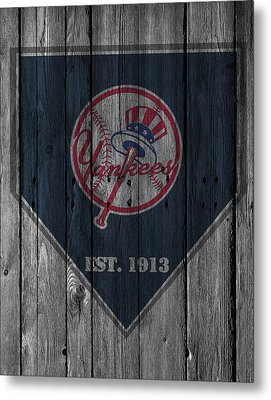 New York Yankees Metal Print by Joe Hamilton