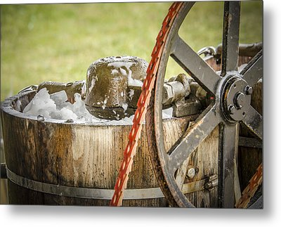 1920's Ice Cream Maker Metal Print by Bradley Clay