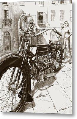 1922 F/n Metal Print by Norman Bean