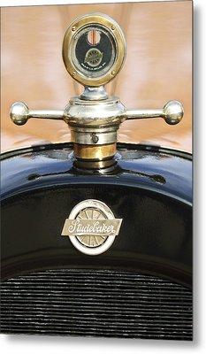 1922 Studebaker Touring Hood Ornament Metal Print by Jill Reger