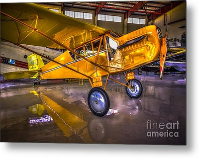 1929 Curtiss Robin Metal Print by Marvin Spates