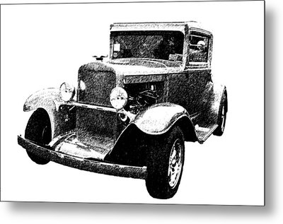1930 Chevy Metal Print by Guy Whiteley